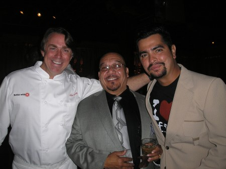 Chef John Besh,NS and Chef Aaron Sanchez